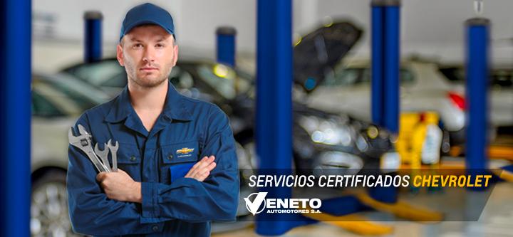 Servicios Chevrolet Veneto