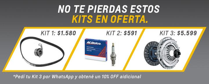 Kits de Repuestos Chevrolet en Río Gallegos