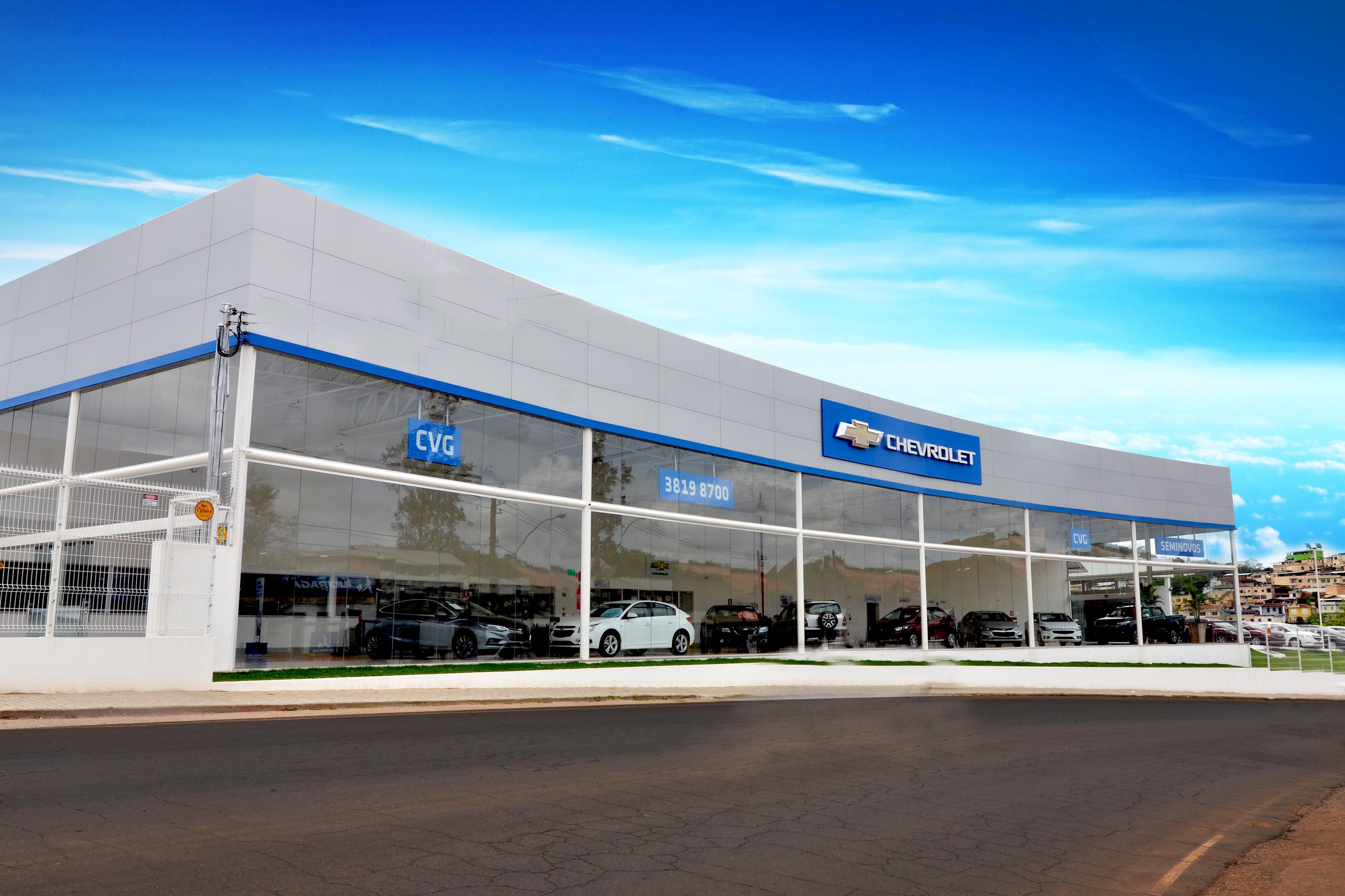 Fachada Concessionária Chevrolet CVG