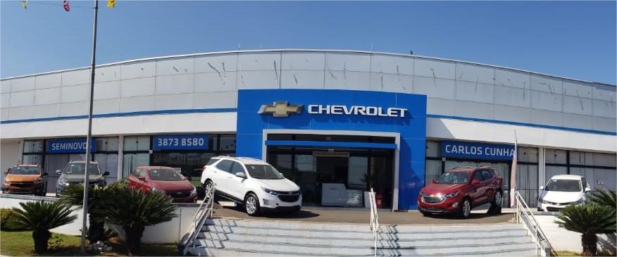 Fachada da concessionária Chevrolet Carlos Cunha