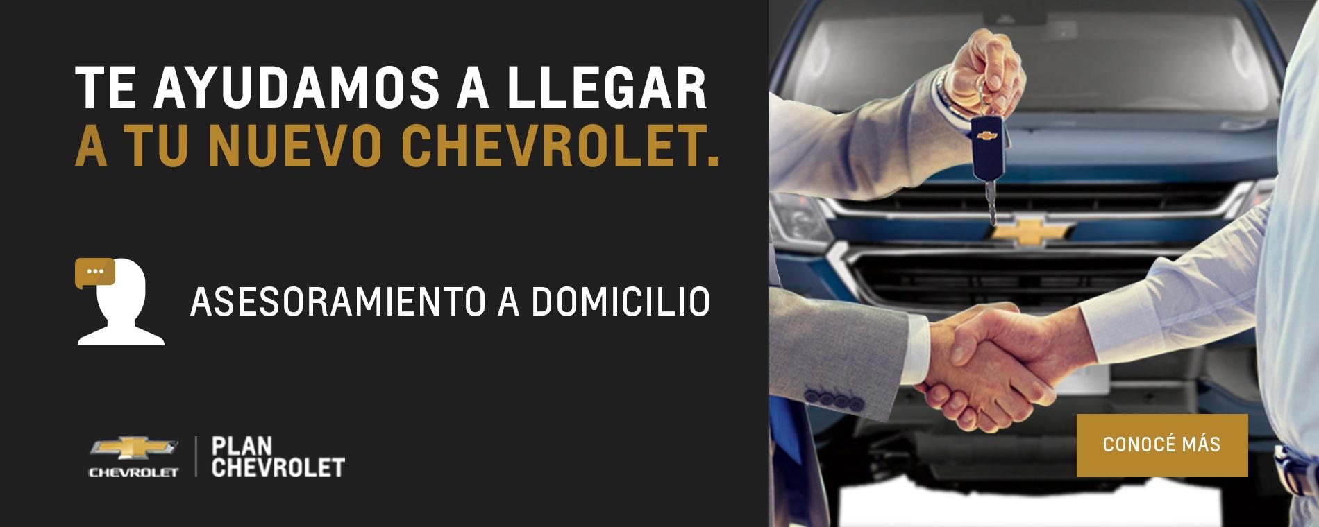 Plan Chevrolet - Asesoramiento a domicilio en Concesionario Oficial en Esteban Echeverría