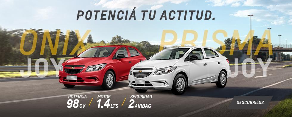 Chevrolet Onix Joy y Prisma Joy