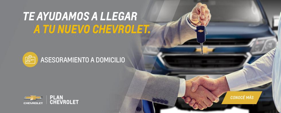 Plan Chevrolet: Asesoramiento a domicilio