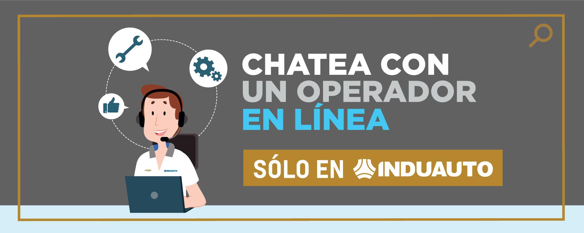 Chatea con un Operador en Línea