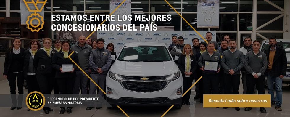 Club del Presidente Amsat Concesionario Oficial Chevrolet