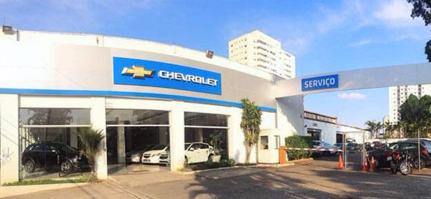 Fachada concessionária Chevrolet Granleste