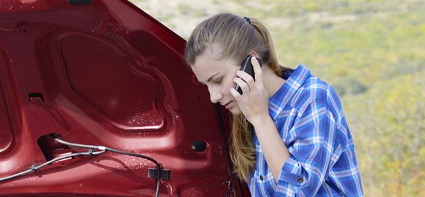 Carro com o Seguro Auto concessionária Chevrolet Ritmo