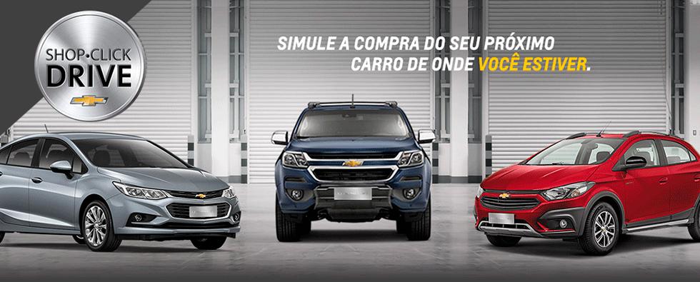 Shop Click Drive - Simule a compra do seu próximo carro de onde você estiver.