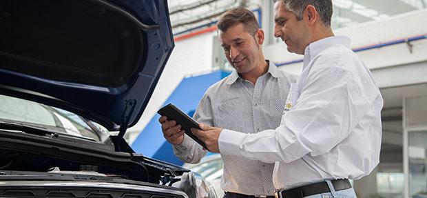 Asesoría y servicio Chevrolet