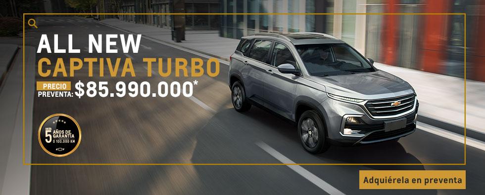 Compra tu Chevrolet Captiva Turbo