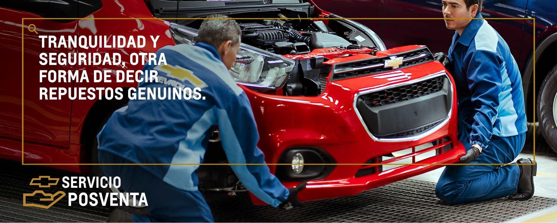 Concesionario Chevrolet - En Concesionario encuentras nuestros servicios posventa
