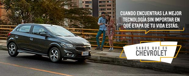 Estrena vehículo con Chevrolet