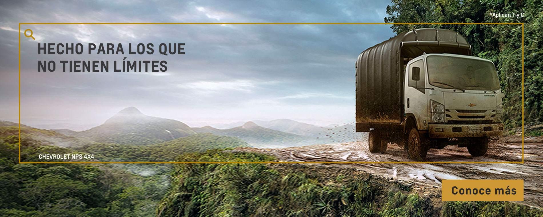 Chevrolet Colombia - camiones - NPS Reward 4X4