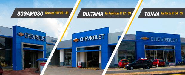 Conoce nuestras vitrinas Disautos Chevrolet