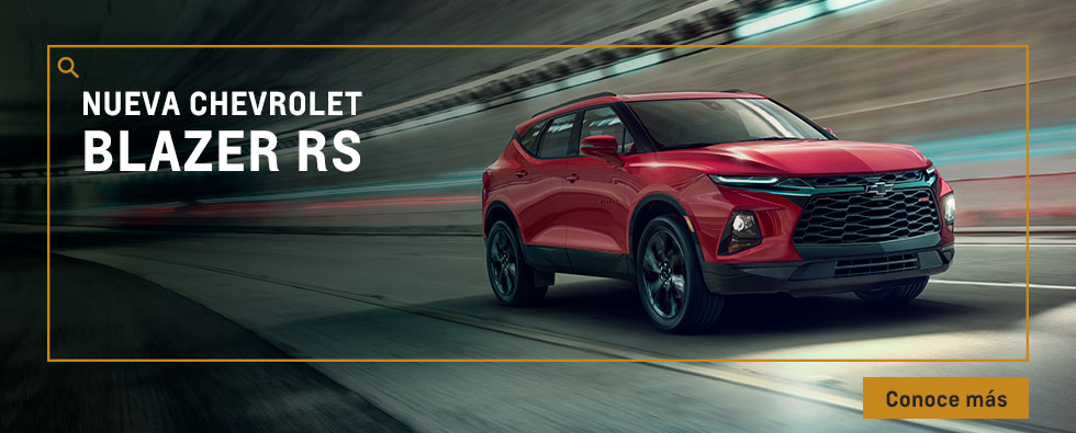 All Car Chevrolet  - Conoce la nueva Blazer RS