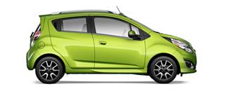 Chevrolet Spark GT Verde