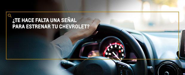 En septiembre estrena tu Chevrolet