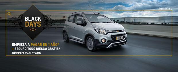 Chevrolet Colombia - Noviembre - estrena carro - vehículos nuevos