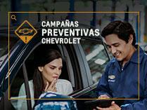Campañas de seguridad Chevrolet