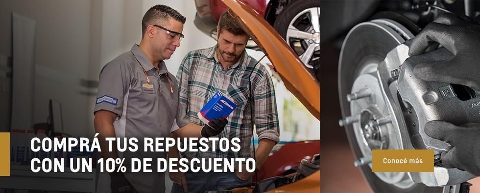 Repuestos Originales Chevrolet en Rosario