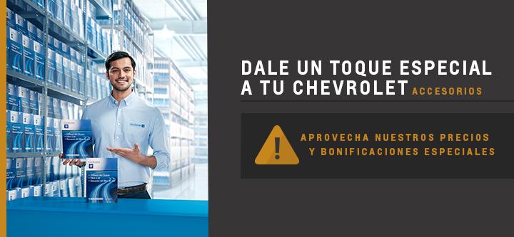 Accesorios Originales Chevrolet en Concesionario Oficial de Rosario