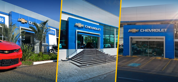 Fachada concessionária Chevrolet Codive Valinhos/SP história e contato