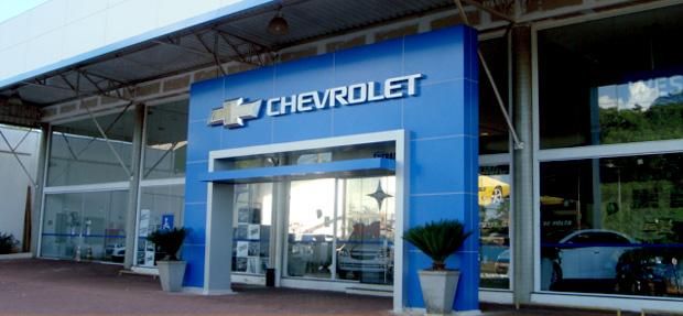 Fachada concessionária Chevrolet West Motors