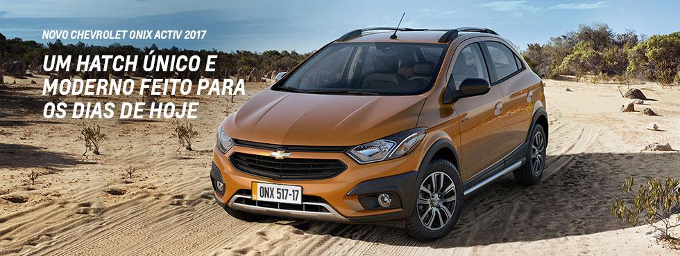 Comprar carro Chevrolet Onix Activ 2017 BoaTerra