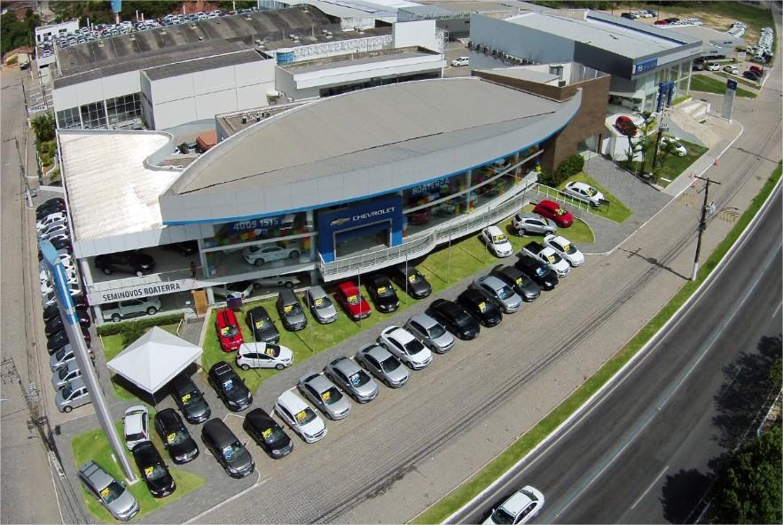 Fachada da concessionária BoaTerra Chevrolet.