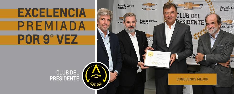 Club del Presidente Pesado Castro Motors Concesionario Oficial Chevrolet