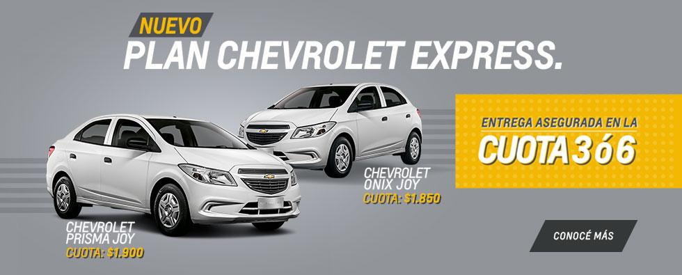 Plan Chevrolet Express en Pesado Castro Motors