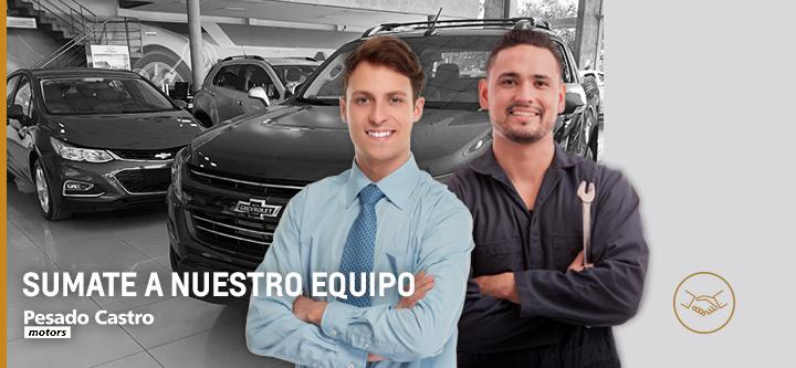 Trabajar en Concesionario oficial Chevrolet Pesado Castro Motors Rosario