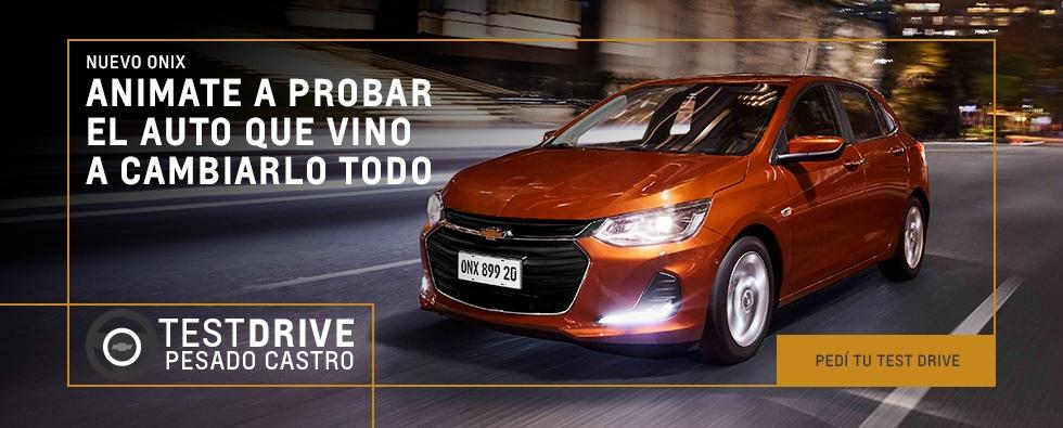 Test Drive nuevo Onix, Concesionario Oficial Chevrolet, Pesado Castro