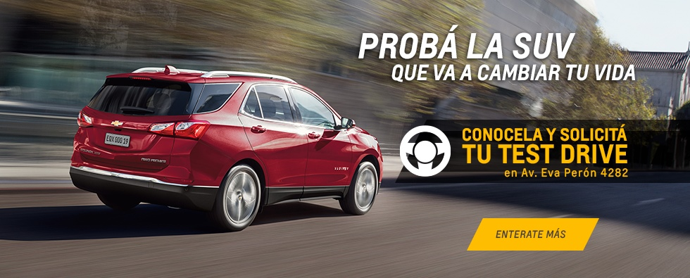 Chevrolet Equinox en Rosario Concesionario Oficial Chevrolet Pesado Castro Motors