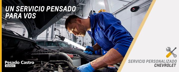 Servicio Personalizado Chevrolet en Pesado Castro Motors