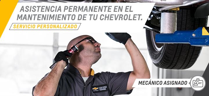 Servicio personalizado en Chevrolet Lago