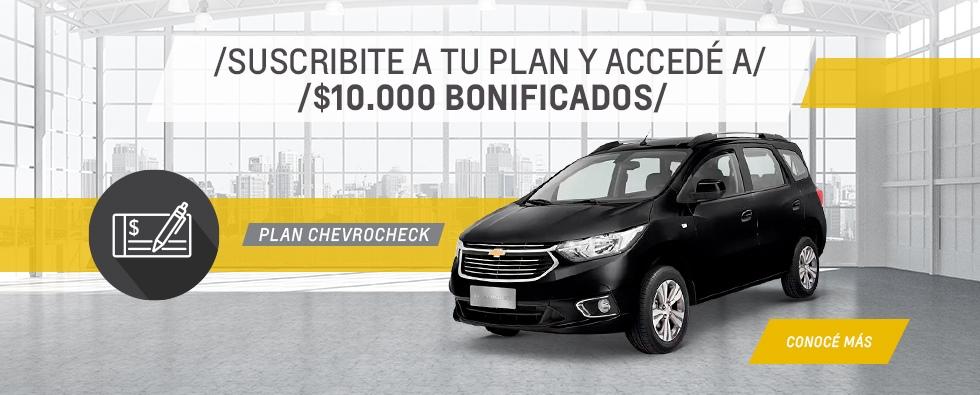 Plan Chevrolet Chevrocheck en Lago