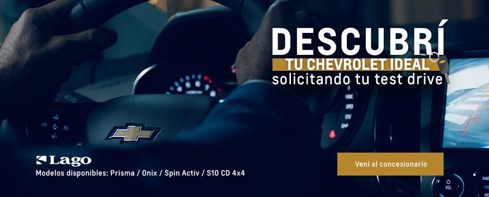 Chevrolet Lago, ofertas de Prisma, Onix, Spin Active S10