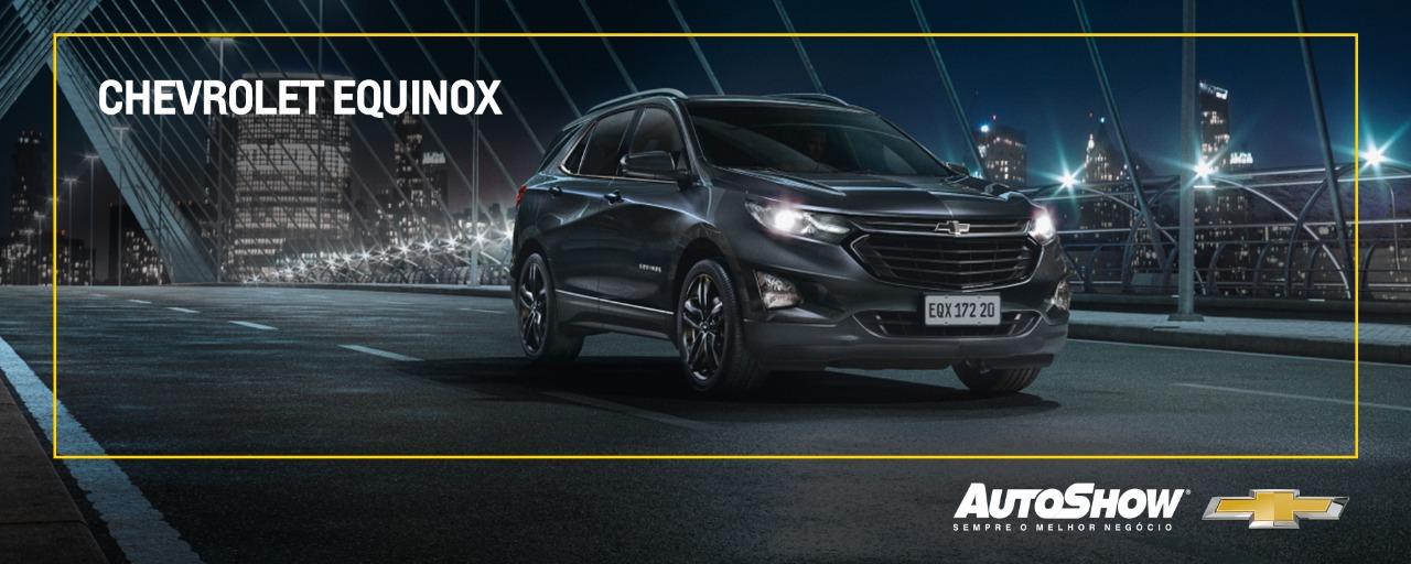 Clique e saiba mais sobre a Chevrolet Equinox!