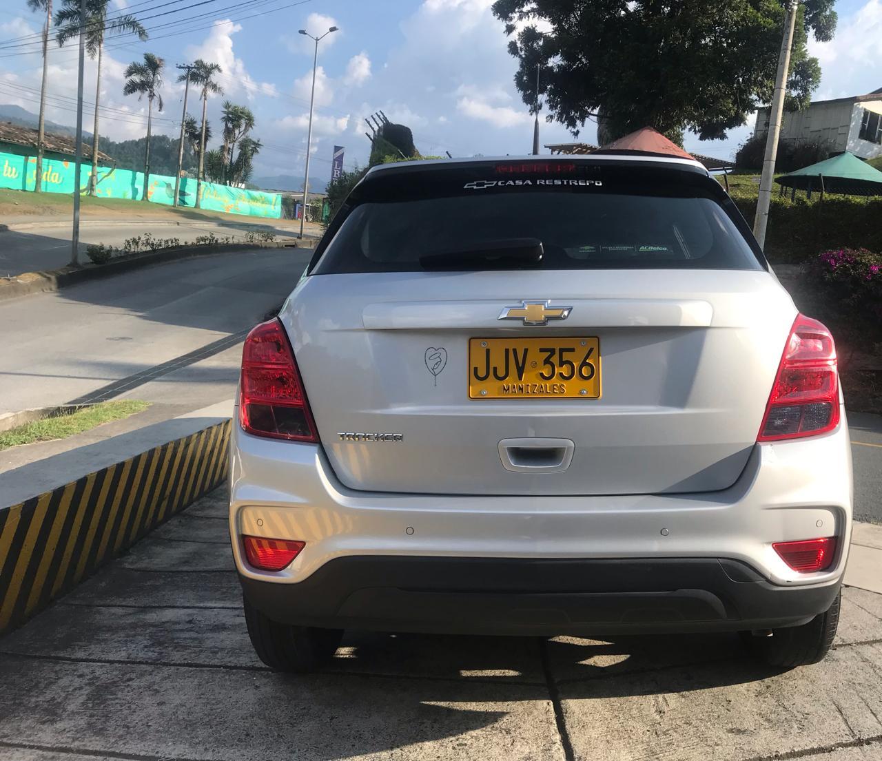 2018 CHEVROLET TRACKER PASAJEROS 1.8L