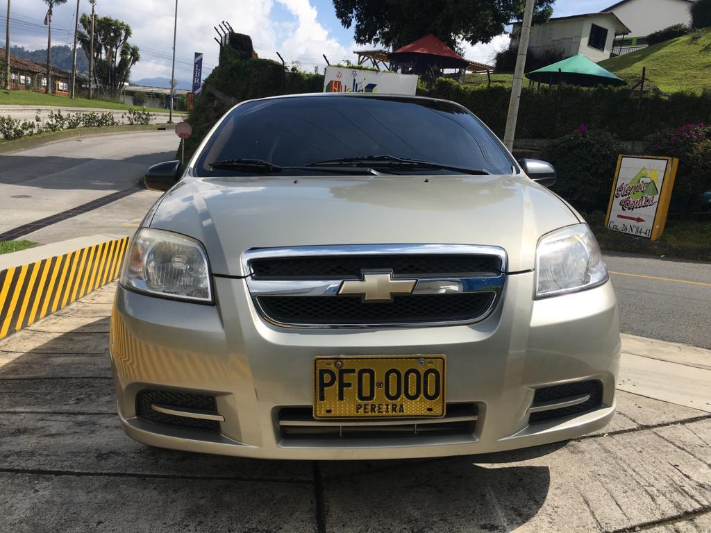 2010 CHEVROLET AVEO EMOTION GT PASAJEROS 1.6L