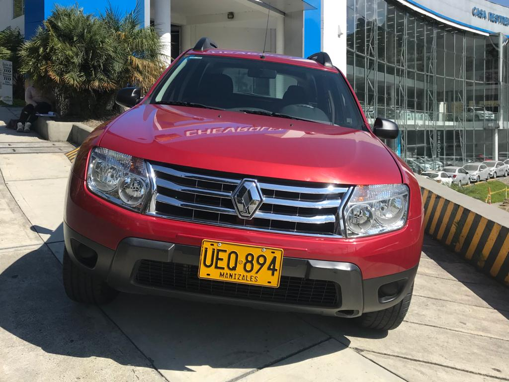 2015 RENAULT DUSTER EXPRESSION PASAJEROS 1.6L
