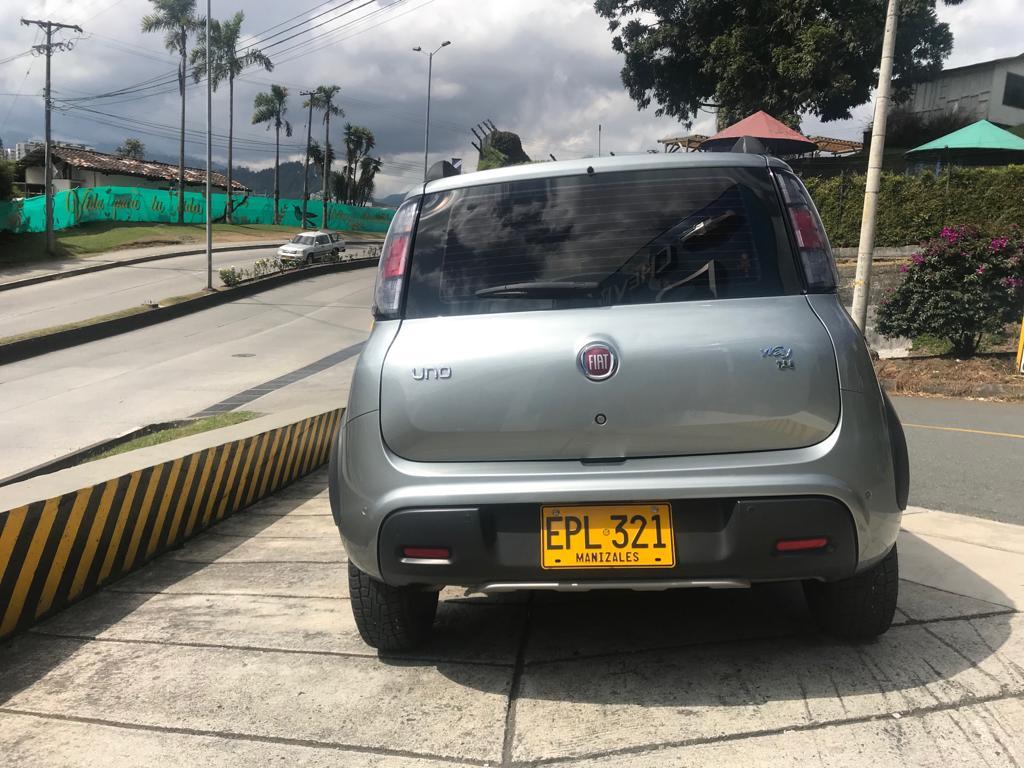 2019 FIAT UNO WAY PASAJEROS 1.4L