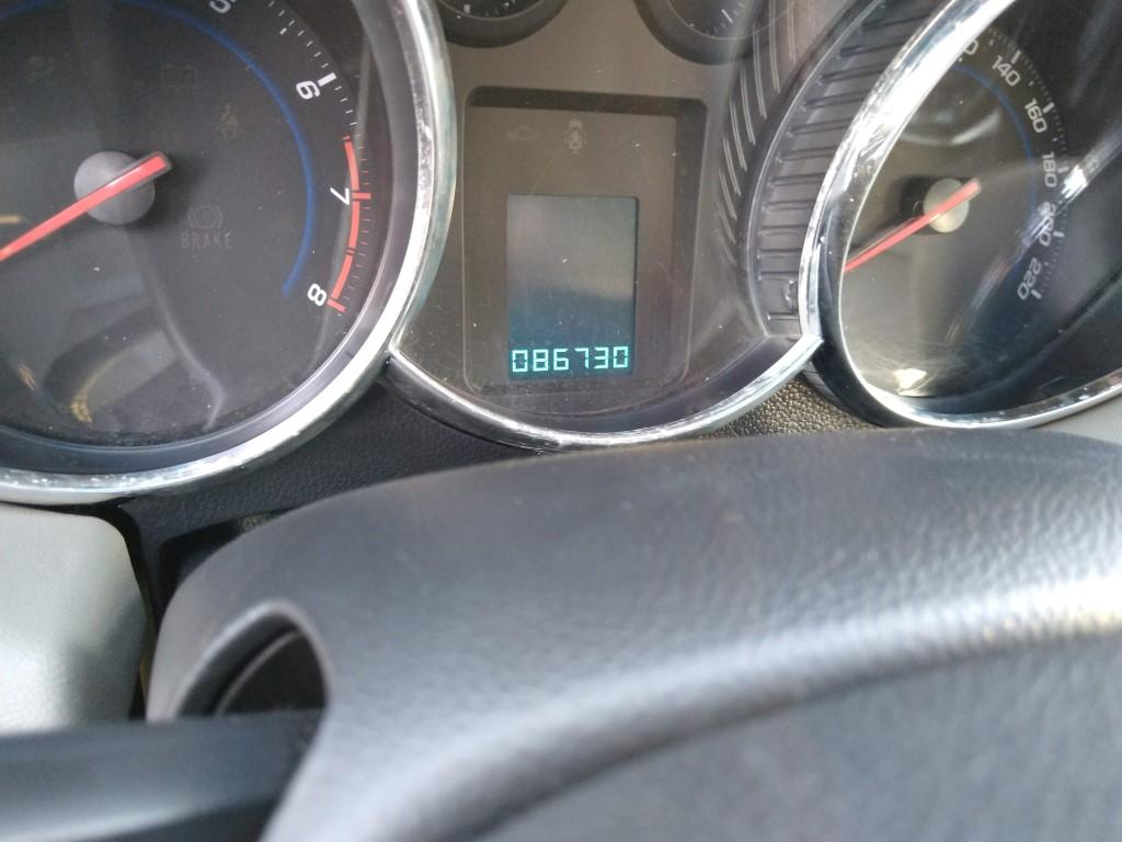 Chevrolet Cruze LTZ 1.8 2013