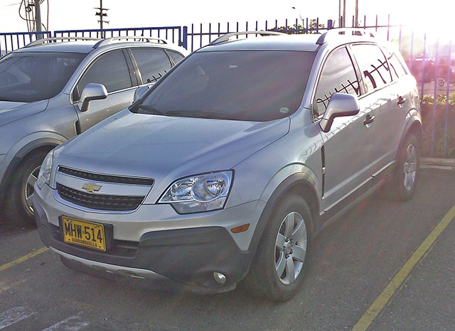 2012 CHEVROLET CAPTIVA WAGON 2.4