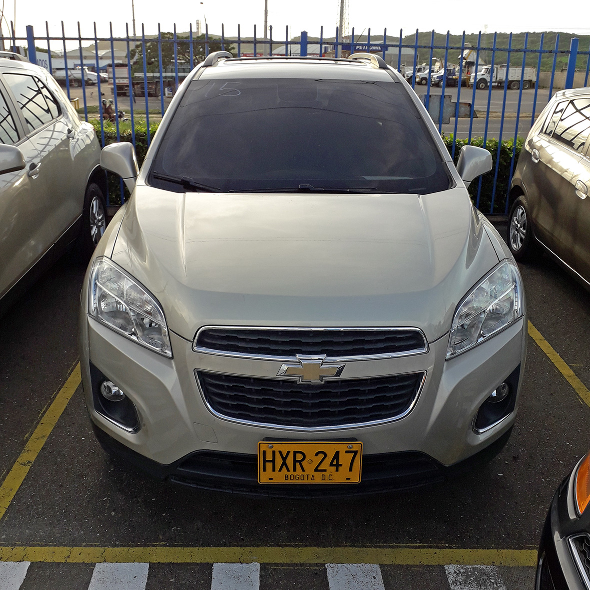 2015 CHEVROLET TRACKER LT WAGON 1.8