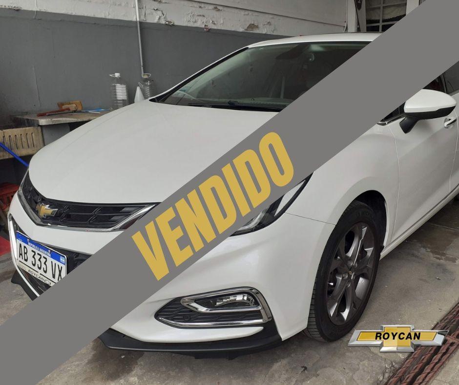2017 Chevrolet Cruze LTZ 5P - Vendido 1,4L