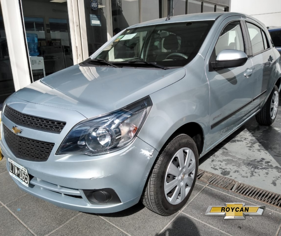 2012 Chevrolet Agile LT Spirit 5P DOBLE AIRBAG+ABS+Levanta VIDRIOS Con Cierre Centralizado 1,4L