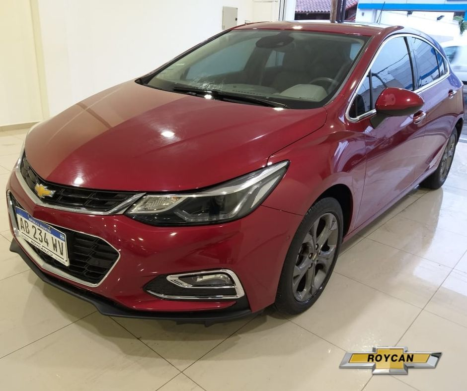 2017 Chevrolet Cruze LTZ + TURBO 5P 1,4L
