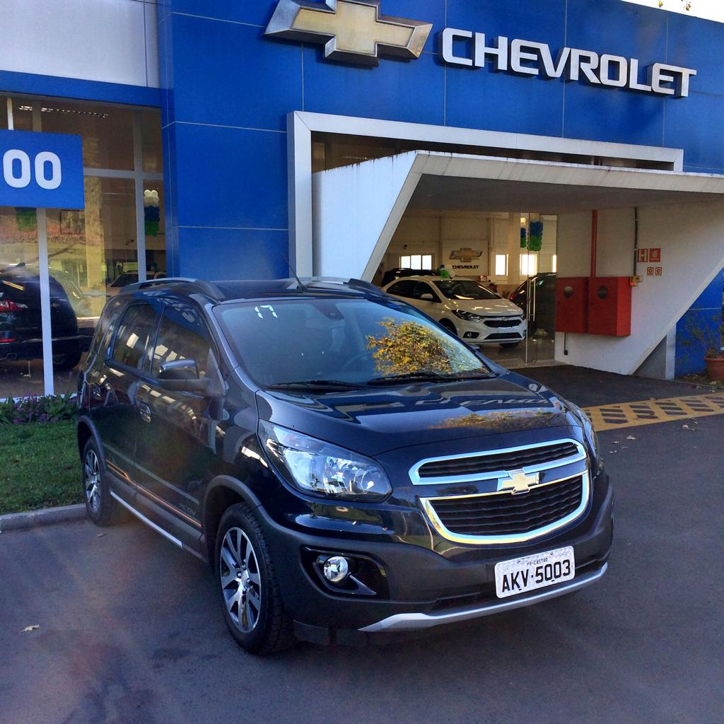 CHEVROLET SPIN 1.8L AT ACT 1.8 2016